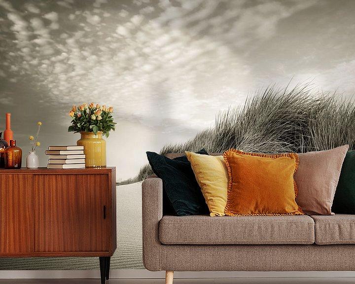Sfeerimpressie behang: Simplicity van Martijn van der Nat