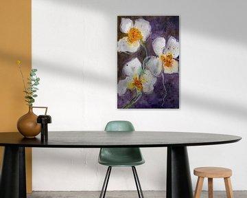 Orchidee bloem van Christine Nöhmeier