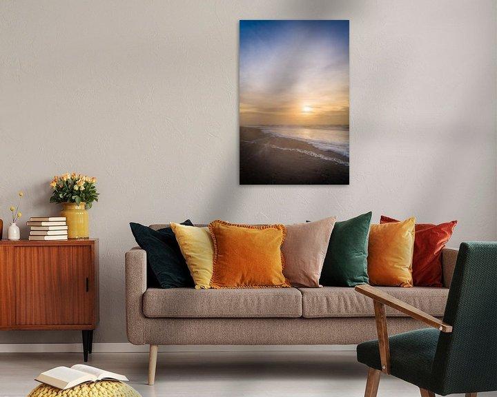 Sfeerimpressie: verticale horizon van Ruben Van der Sanden