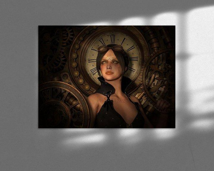 Beispiel: Steampunk Time Keeper von Britta Glodde