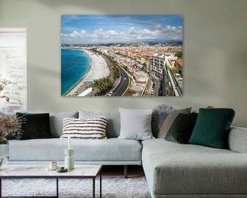 NICE Promenade des Anglais van Melanie Viola