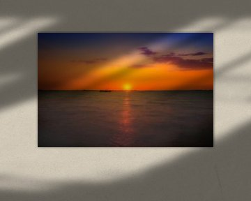 Zonsondergang van Mario Calma