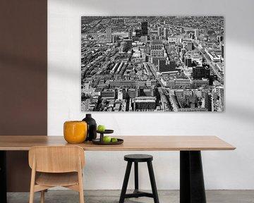 Centrum Rotterdam Zwart/wit van Anton de Zeeuw