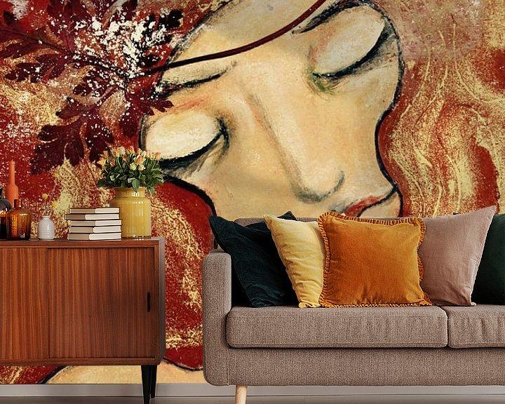 Sfeerimpressie behang: Zeemeermin van RAR Kramer