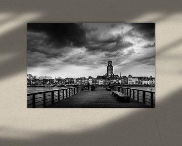 Deventer in BW van Erik Veldkamp