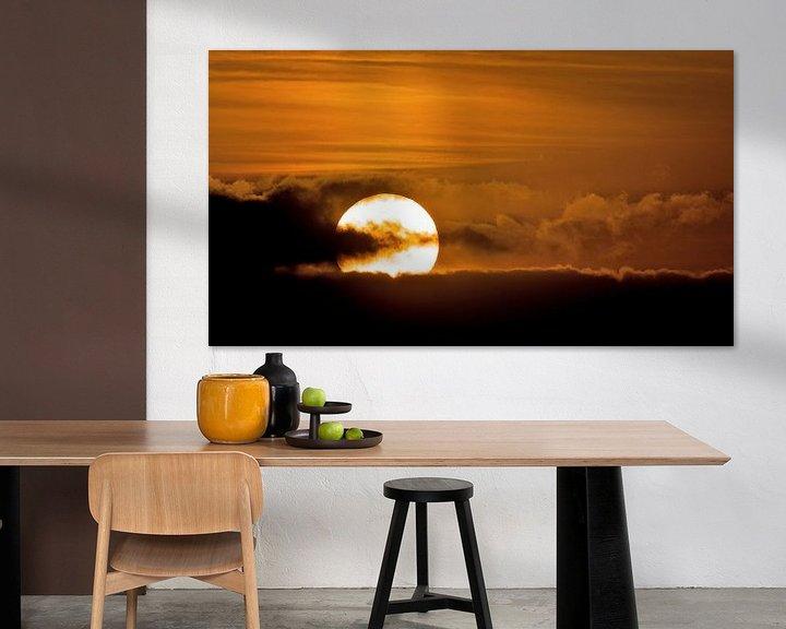 Sfeerimpressie: Zonsondergang van Erik Veldkamp