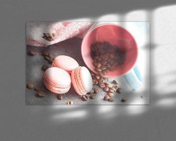 Süßes Gebäck mit frischem Kaffee  von Tanja Riedel