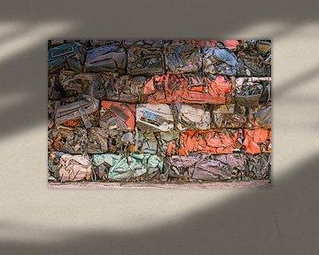 Kleurrijke verzameling van voertuigen van Jerome Coppo