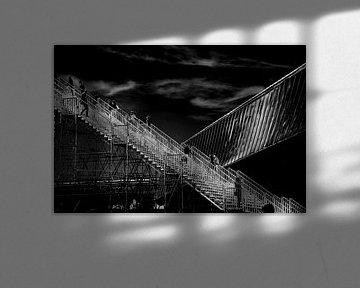 Gebouw ontmoet trap von FotoNederland / Henk Tulp