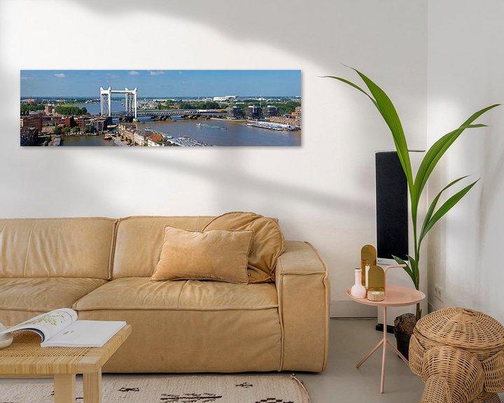 Impression: Panorama Hefbrug Dordrecht sur Anton de Zeeuw