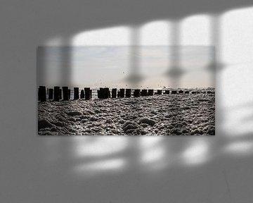 Zee vol met schuim von Erik Wouters