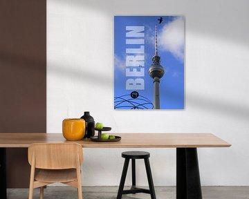 BERLIN TV-toren van Ralf Schroeer