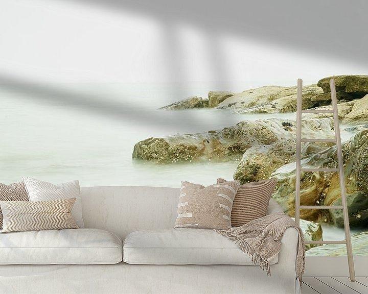 Sfeerimpressie behang: De Opaalkust van Rene van Dam