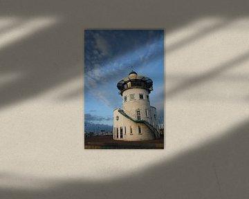 Toren in de haven van Harlingen