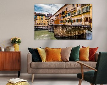 Florenz, Ponte Vecchio von Marga Meesters