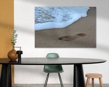 Footprints in the sand von Selma Hamzic
