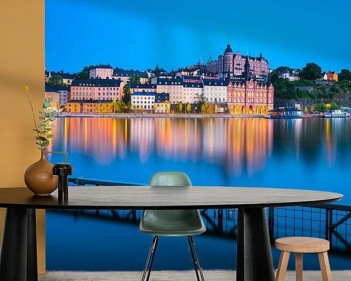 Sfeerimpressie behang: STOCKHOLM 05 van Tom Uhlenberg