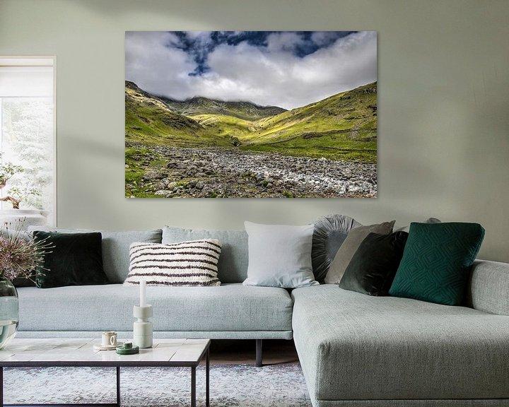 Sfeerimpressie: Klimmen in het Lake District van Frans Blok