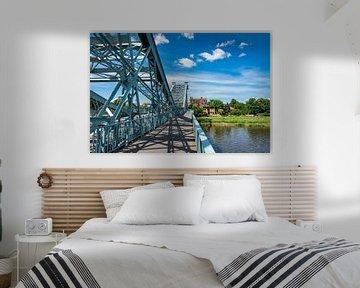 Bridge in Dresden  van Rico Ködder