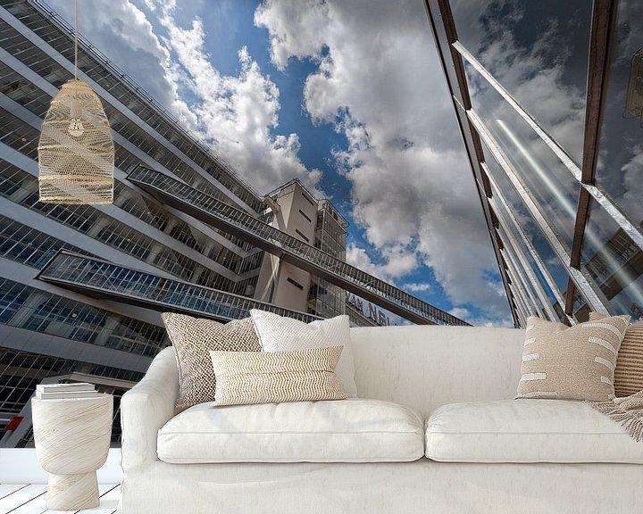 Sfeerimpressie behang: Van Nelle Fabriek / Rotterdam van Rob de Voogd / zzapback