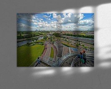 Van Nelle Fabriek / Tea Room View / Rotterdam von Rob de Voogd / zzapback