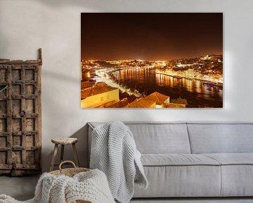 Douro Reflections van Olivier Groot
