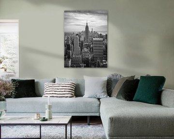 Empire State Building van Marco de Waal