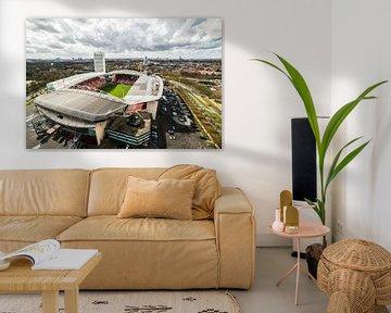 Stadion Galgenwaard, Utrecht.