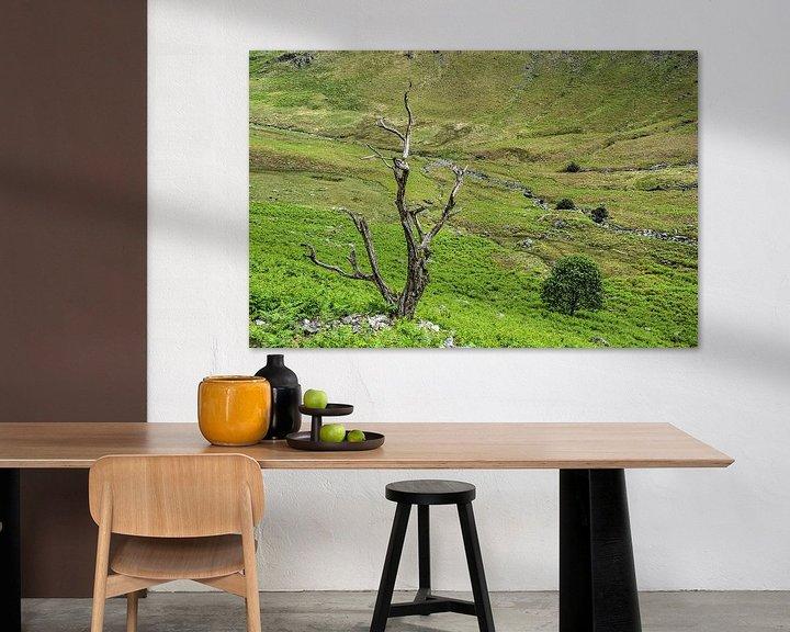 Sfeerimpressie: Twee bomen van Frans Blok