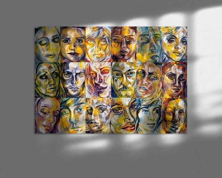 Sfeerimpressie: Licht Mensen van ART Eva Maria