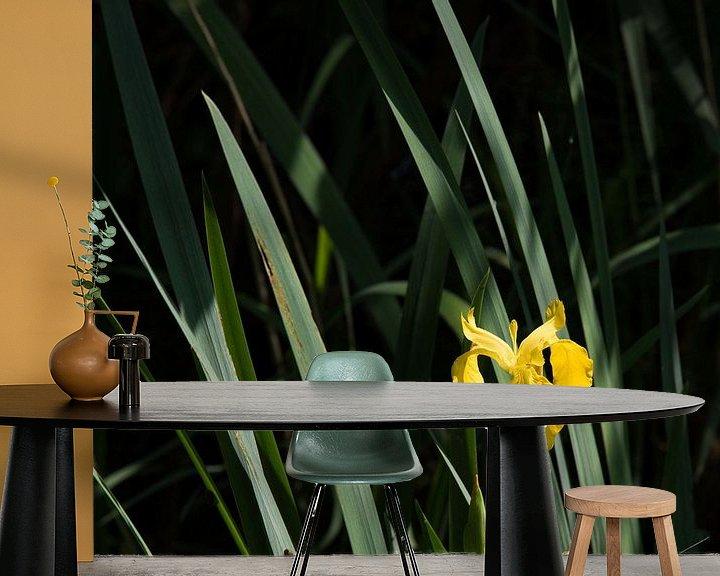 Sfeerimpressie behang: Like an Orchid van Hans Krijnen