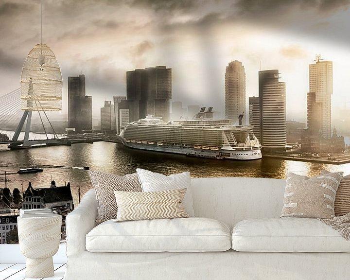 Sfeerimpressie behang: The Oasis of the Seas in Rotterdam van Sylvester Lobé