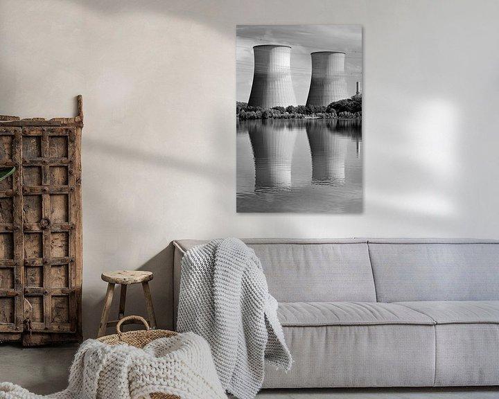 Sfeerimpressie: Koeltorens Maasbracht van Anton de Zeeuw
