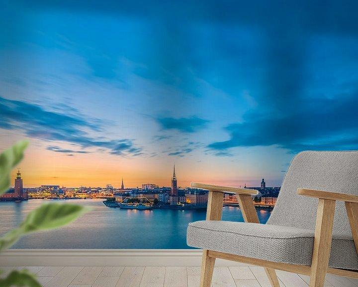 Sfeerimpressie behang: STOCKHOLM 07 van Tom Uhlenberg