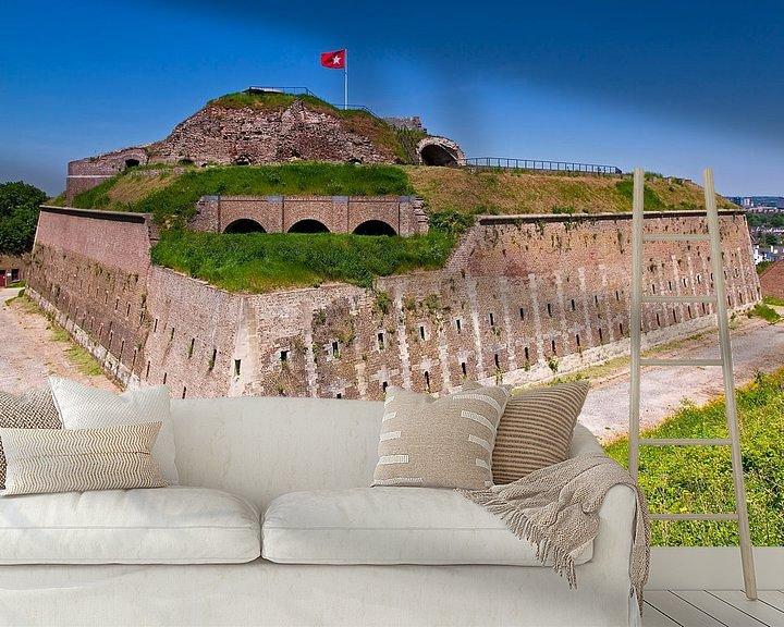 Sfeerimpressie behang: Fort st. Pieter te Maastricht van Anton de Zeeuw