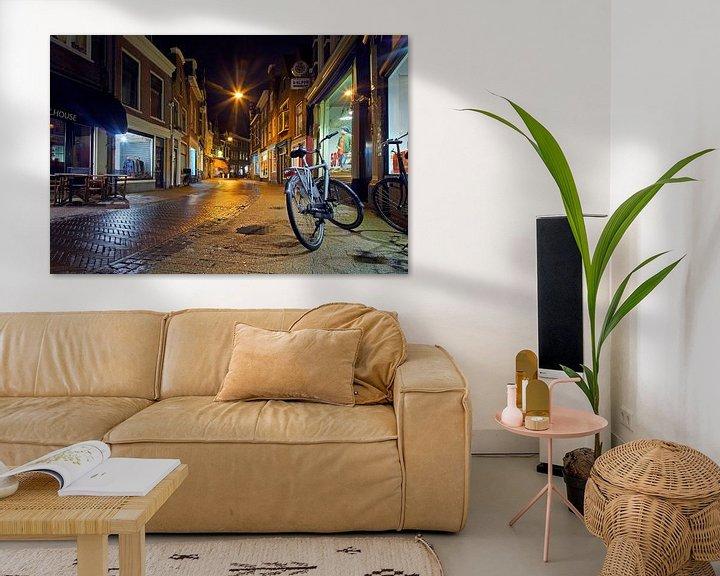Impression: Kleine Houtstraat Haarlem sur Anton de Zeeuw