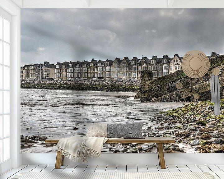Sfeerimpressie behang: Uitzicht op zee van Frans Blok