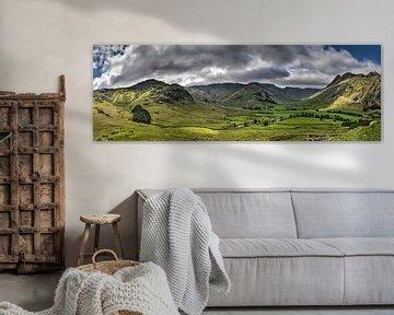 Panorama Lake District, Engeland
