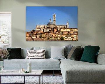Siena skyline van Dennis van de Water