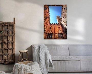 Torre Del Mangia van Dennis van de Water