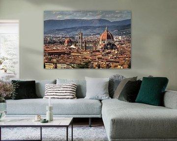 Florence stadsgezicht van Dennis van de Water