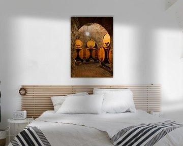 Wijnkelder Toscane van Dennis van de Water