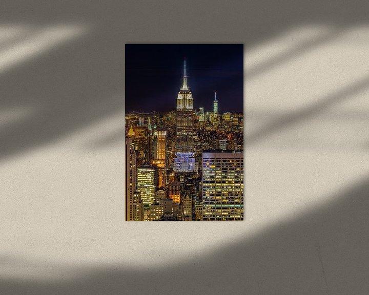Sfeerimpressie: New York Skyline - View from the Top of the Rock 2016 (3) van Tux Photography