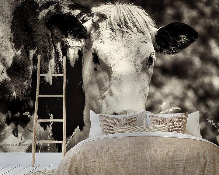 Beispiel fototapete: De Koe. von Harrie Eickenboom