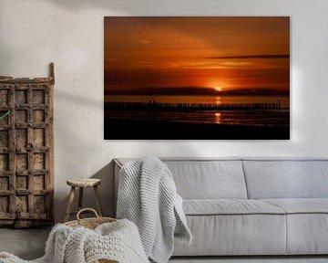 Zonsondergang van Danny Vroemen