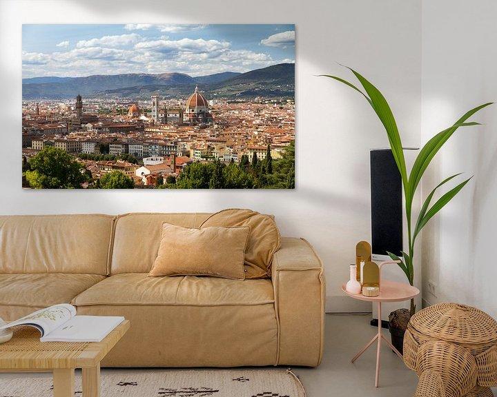 Sfeerimpressie: Florence stadsgezicht van Dennis van de Water