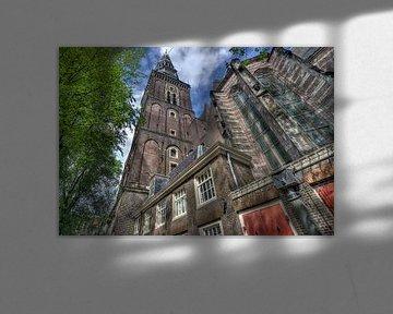 Oude Kerk in Amsterdam sur Jan Kranendonk