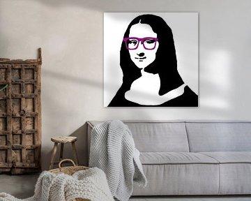 Mona Lisa is Hipster van Didden Art