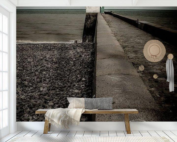 Sfeerimpressie behang: For the love of it van Ruud Peters