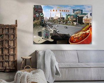 Las Vegas Collage van Karen Boer-Gijsman